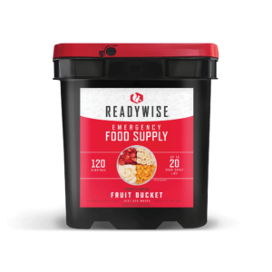 120 Serving Freeze Dried Fruit Bucket