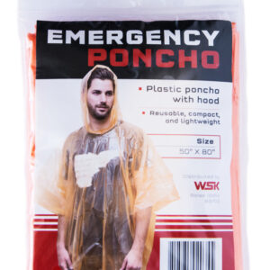 Emergency Poncho with Hood