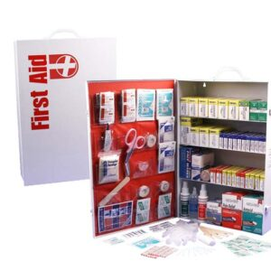 4-Shelf First Aid Cabinet