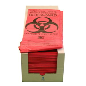 Case of 500 Infectious Waste Bags
